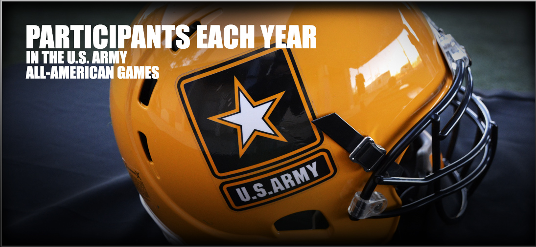 Participates in US Army All-American games