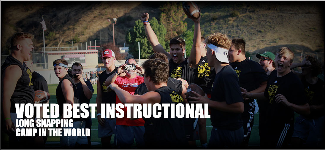 Voted best long snapping camp in the world